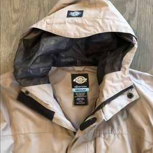 modern style preview of designer fashion Dickies STORM raincoat
